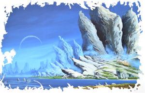 Alibi-Insula - 2020 - Huile sur toile - 115X75