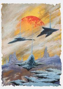 Litus-Distant - 2019 - Acrylique & Pastel - 73X54