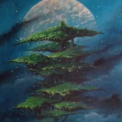 Luna Dae - 2019 - Acrylique  Pastel - 73X54